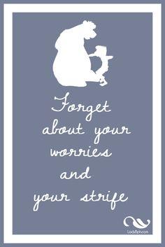 the jungle book Printable disney quotes  www.ladybph.com