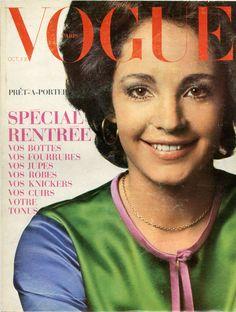 Couverture de Vogue n°510 d'octobre 1970, photo Jeanloup Sieff