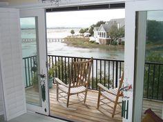 Sliding Door Panels, Sliding Glass Door, Glass Doors, Bahama Shutters, Design Blogs, Shades Blinds, Celebrity Houses, Coastal Living, Hgtv