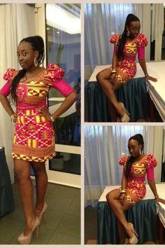Gorgeous african dress