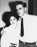 24 year old Elvis meets 14 year old Priscilla in West Germany in 1959.