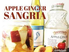 How Apple Ginger Sangria Made My Kids Cry