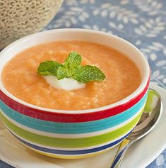 Cucumber soup recipe, Soup recipes and Summer picnic on Pinterest
