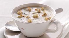 Krem-juha od cvjetače s krutonima