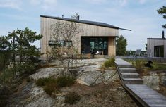 Harmoniskt arkitektritat sommarboende på Ingarö | Residence