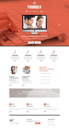 Joomla Template , Business Consultant