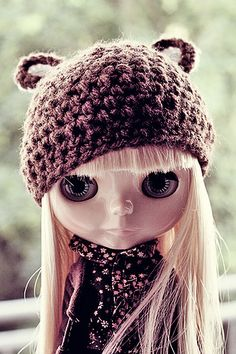 Blythe ~ Huge eyes & great clothes.  Dolls for women of any age!