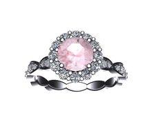 Classic  Diamond Engagement Ring 14K White by JewelryArtworkByVick, $1225.00