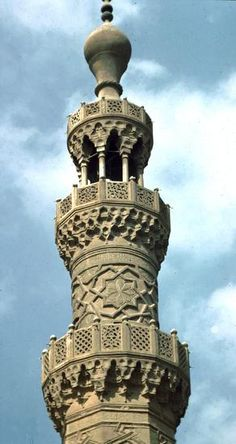 minarets in Egypt | ... 1307 Mosque of Sultan Qaitbay, Cairo in Egypt | Pattern in Islamic Art