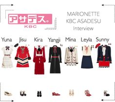 MARIONETTE (마리오네트) KBC Japan's Asadesu Interview Kpop Fashion Outfits, Stage Outfits, Korean Outfits, Kpop Girl Groups, Kpop Girls, Law School Fashion, Korean Girl Fashion, Asian Love, Outfit Maker