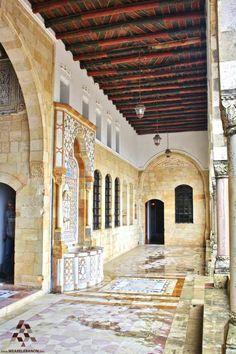 Inside #Beiteddine Palace قصر بيت الدين من الداخل By Jack Sakabedoyan  #Lebanon #WeAreLebanon