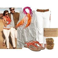 polyvore summer outfits 2013   cute summer outfit - love the sandals / For College - Juxtapost