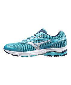Love this Blue Lagun & Silver Wave Legend 3 Running Shoe - Women on #zulily! #zulilyfinds