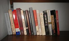 """When a lady was asked what she wanted for her birthday by her friends, she said """"your favorite book"""". These are just some of the books she received. i would like this """"hint hint""""."""