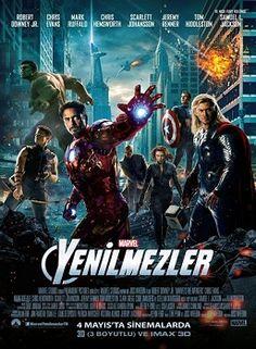 The Avengers - Yenilmezler 2012 - 1080p 3D HALF SBS Türkçe Altyazı - Tek Link Indir