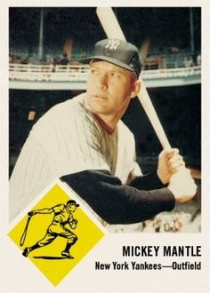 1963 Fleer Mantle