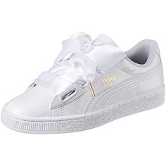 the latest 51efe 6c697 Puma Damen Basket Heart Patent Low-Top Sneaker Puma Amazon.de Schuhe   Handtaschen