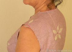 Клуб любителей шитья Сезон - сайт, где Вы можете узнать все о шитье - Исправление горизонтального баланса <br>плечевого изделия