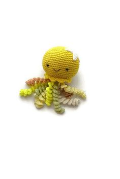 Hey, I found this really awesome Etsy listing at https://www.etsy.com/listing/608595308/cute-octopus-toy-crochet-yellow