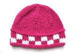Pattern knit preemie hat pdf beanie by thewhitedaisydesigns, $2.99