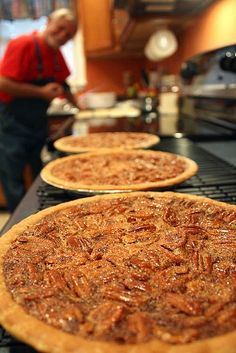 Pecan Pie, BEST EVER RECIPE and just in time for the holidays! I guess I'll try....since its his favorite.