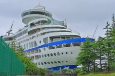 außergewöhnliche hotels sun cruise südkorea luxus schiff
