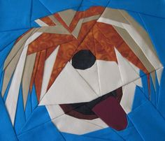 Barkley, free paper pieced pattern designed by Michelle Thompson