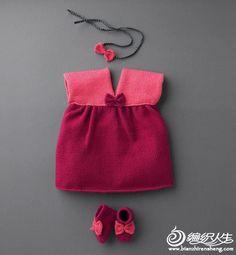 15例儿童款美衣编织图片欣赏_儿童毛衣_编织人生手工编织网