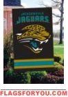 """Jaguars Applique Banner 44"""" x 28"""""""