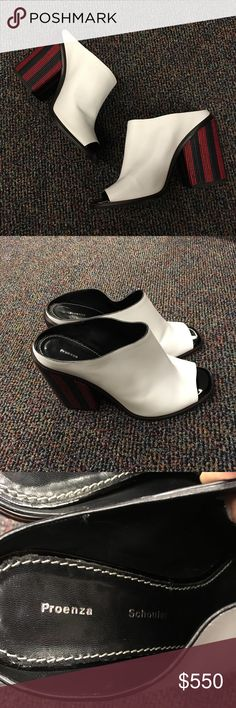 Proenza Schouler Peep Toe Sandals Proenza Schouler Peep Toe Sandals. Size 39. Refurbish soles. No box. No dustbag. Tags still attached. Proenza Schouler Shoes Mules & Clogs