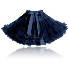 Le Petit Tom Pettiskirt In Dark Navy || Igloo Kids Clothing ($69) ❤ liked on Polyvore featuring skirts, kids and iglookids