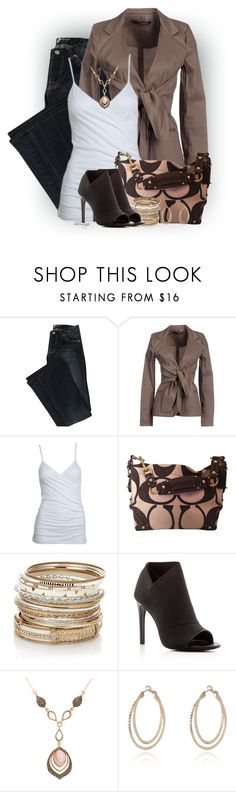 """Untitled #2283"" by sherri-leger ❤ liked on Polyvore featuring Annarita N., Alloy Apparel, Coach, Accessorize, Charles David, Genevieve & Grace, River Island, women's clothing, women's fashion and women"