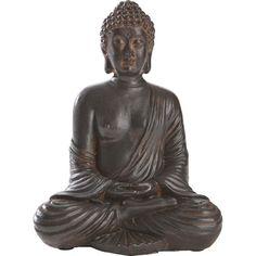 Mit dem Dekoobjekt Buddha haben Sie eine wunderschöne Figur mit Tradition. Der sitzende Buddha strahlt Ruhe und Entspannung aus. Traditionell asiatisch!