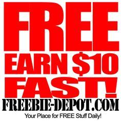 Earn $10 FREE – Fast!