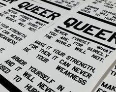ifs buts ands etcs...: Queerily Queer