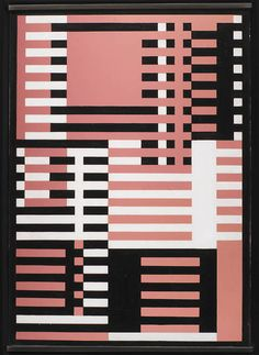 'Goldrosa', ca. 1926 by Josef Albers (1888-1976)