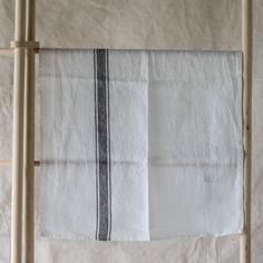 another linen tea/towel / napkin Thick And Thin, Napkin, Tea Towels, Granite, Beach House, Stripes, Beach Homes, Dish Towels, Granite Counters