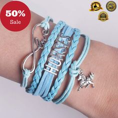 Grab this Beautiful Leather Horse Bracelet!!  50% OFF TODAY!!!! Buy Here: https://liveaccessories.com/products/leather-horse-bracelet  Only a Limited Supply Available. Don't miss out.