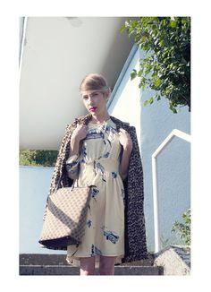 Project: Training  Photo: Valentyna Janu Styling/MUA: Alice Reindlova Hair: Katerina Muratova Model: Marketa Hamadakova  http://projecttraining.tumblr.com/  #fashion #editorial #photoshooting #vintage #look #hair #hairstyling #styling #MUA #retro #70s