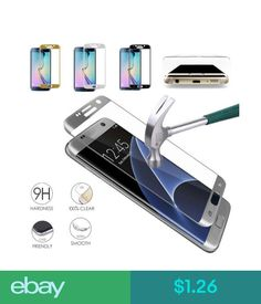 FULL CURVED TEMPERED GLASS LCD SCREEN PROTECTOR FOR SAMSUNG GALAXY