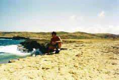 Mochilão de Ernesto Junior à Aruba e Curaçao em 2001.