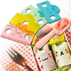 Cortadores para sushi de animales