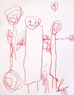 Image result for children's drawings of family