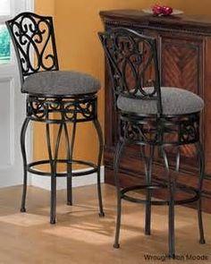Resultados De La Búsqueda De Imágenes: Bar Stool Wrought Iron Furniture    Yahoo Search