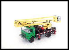 Star 244 w. Lego Crane, Lego Construction, Legos, Stars, Vehicles, Toys, Lego, Sterne, Car