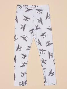 Kids All Over Eagle Legging in White by Boy London - ShopKitson.com