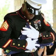 U.S. Marine Corps, Morning Colors ceremony, Marine Barracks, Washington DC.