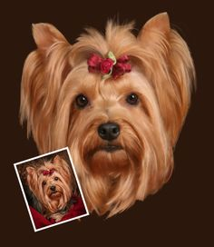 Tutorial: An Easy Pet Portrait in Pastel with Corel Painter - Digital Image Magazine
