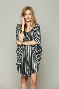 Lotta Stensson Knit Stripe Doily Dress at Free People