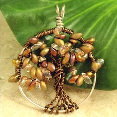 Image detail for -Bead Quest: Tree of Life Pendant